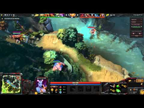 Yes vs Na'Vi - Hook do PSM no Dendi