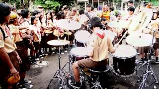 Video 11 years old boy scout played Nightmare from Avenged Sevenfold at school MP3, 3GP, MP4, WEBM, AVI, FLV Mei 2018