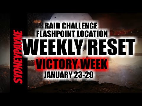 Destiny 2: Weekly Reset Flashpoint Location, Raid Challenge, Nightfall, January 23-29