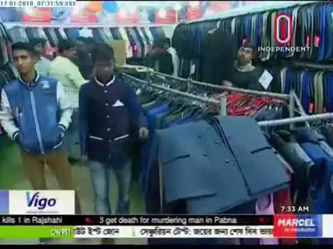 Demand for winter clothes in Trade Fair (17-01-2018)