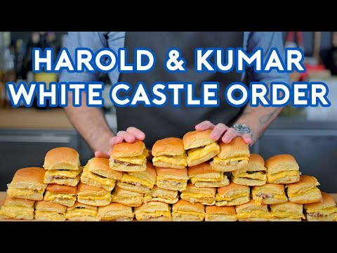 Download Binging with Babish: White Castle Order from Harold \u0026 Kumar HD Mp4 3GP Video and MP3