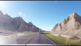 Murdo (SD) United States  city images : Day3/2 - South Dakota Rapid City - Murdo - Badlands NP (Timelapse)