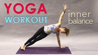 Video Yoga Flow Workout ~ Inner Balance MP3, 3GP, MP4, WEBM, AVI, FLV Maret 2018