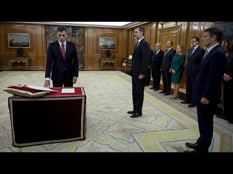Amtseid: Pedro Sanchez ist Spaniens dritter sozialist ...
