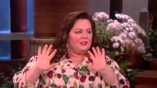 Melissa McCarthy Needs a Straitjacket on Ellen show