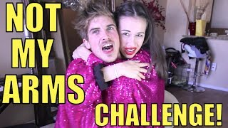 NOT MY ARMS CHALLENGE W/ JOEY GRACEFFA!