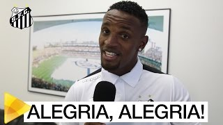 REFORÇO PRA ZAGA E PRO TIME DA RESENHA! O zagueiro Cleber assinou com o Peixe até 2022 e tá feliz da vida! Inscreva-se na Santos TV e fique por ...