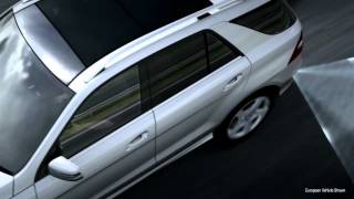 Blind Spot Assist Vehicle Safety Technology -- Mercedes-Benz 2013 ML-Class