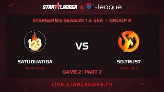 SatuDuaTiga vs Signature, game 2