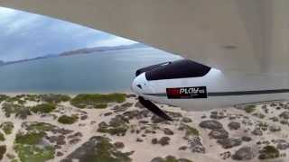 Took my new Parkzone Radian RTF with me on my trip to Baja and flew it in several locations. This location features the...