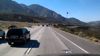 Hesperia (CA) United States  city photos gallery : South of Hesperia, California - 12 miles of downhill on Interstate 15
