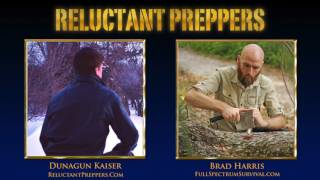 Brad Harris, urban and backwoods bushcraft trainer, founder and host of Full Spectrum Survival, returns to Reluctant Preppers to update us on his newsfeed analysis of current events and power shifts, what they foretell of our future, and how we can take immediate steps to get off the grid, and reduce risk for our family.========= IN THIS INTERVIEW =======* * ... sign up for free newsletter for full descriptions!Subscribe (it's FREE!) to Reluctant Preppers for more ► http://bit.ly/Subscribe-FreeChannel graphics by http://JosiahJohnsonStudios.comPromotion by http://FinanceAndLiberty.com