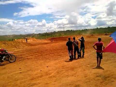 Motocross em canudos (BA) Categoria Regional josadaque comandando!