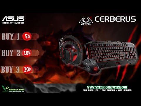 Review ASUS  Cerberus gaming keyboard
