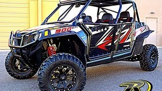 6. The Latest Custom Polaris RZR XP 4 900 Signature Series At RideNow Peoria