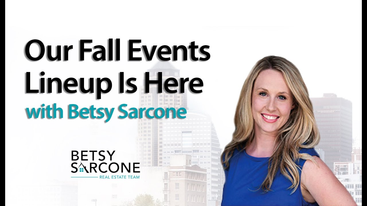 Announcing the Fall Events Lineup