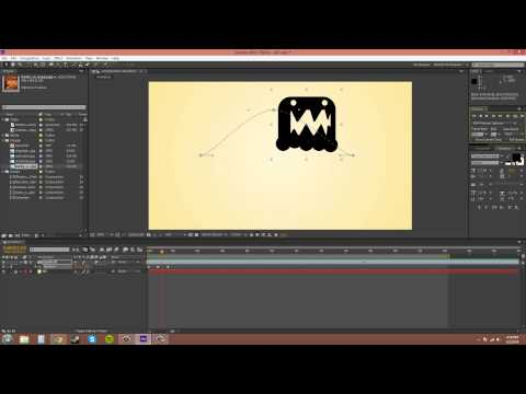 After Effects CS6 Tutorial - 11 - Editing Keyframes