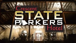 Eureka Springs (AR) United States  city pictures gallery : The Crescent Hotel in Eureka Springs, AR with State Parkers