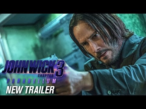 John Wick Chapter 3 - Parabellum 2019 Movie New Trailer  Keanu Reeves Halle Berry