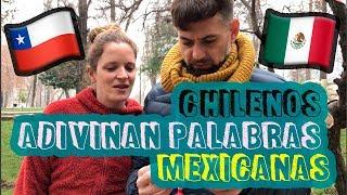 Hola! el día de hoy estoy en la ciudad de Santiago de Chile y salí a la calle a retar a los chilenos a que adivinaran algunas palabras o regionalismos de mi ciudad  (Monterrey) y de mi país (México) ,espero les guste el vídeo.No olvides apoyarme con un like si te gusta este tipo de vídeos! :DAcá subo más cosas de mi día a día :)♥ Instagram:https://www.instagram.com/mexicanaenelmundo/♥ Twitter:https://twitter.com/mexicananlmundo♥ Facebook:https://www.facebook.com/mexicanaenelmundo♥Snapchat: ThaiisithaCHECA ESTOS VÍDEOS:*Cómo nos conocimos vídeo:https://youtu.be/V3swkWGfR3Y*Estudio o trabajo?https://youtu.be/tDkTeJQsPewNo olvides suscribirte a mi canal para que no te pierdas ninguno de mis vídeos!! :D♥  https://www.youtube.com/MexicanaEnelmundoContestando sus Preguntas:https://youtu.be/tDkTeJQsPewContacto negocios:thaiisitha@hotmail.es