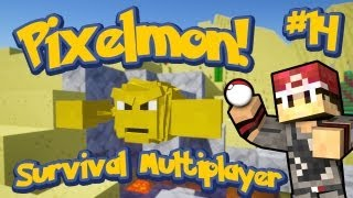 Pixelmon Survival Multiplayer Episode 14 - Shiny Geodude!!! THE FIRST SHINY w/LittleLizardGaming