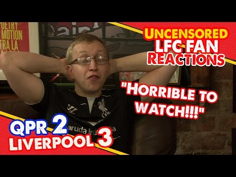reactions - After a dodgy 3-2 win over QPR at Loftus Road Chris gives you his match reaction! The Redmen TV is Uncensored LFC Television... Buy Redmen T-Shirts: http://www.redmentvshop.com You Can Find...