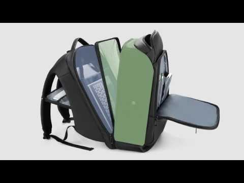 17 inch Laptop Travel  Water Repellent Backpack  with USB Charging Port