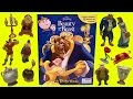 Beauty and the Beast  ~ My Busy Story Books ~ Toy Figures from 2017 Disney Movie