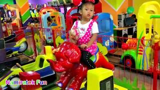 Mainan Anak Naik Odong Odong Robot Hewan, Robo Binatang Kendaraan Banyak Sekali & Lucu