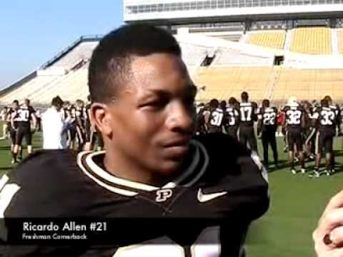 Ricardo Allen Interview 8/17/2010 video.