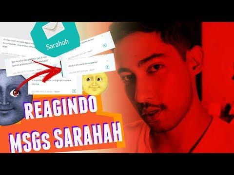 REAGINDO À MENSAGENS DO SARAHAH