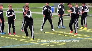 Download Video Latihan koordinasi dan kelincahan sepakbola usia dini1 MP3 3GP MP4