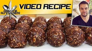 No Bake Nutella Bites | Nicko's Kitchen - YouTube
