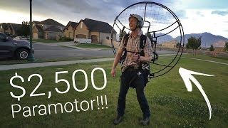 Video A $2,500 Paramotor - Flying On A Budget Pt. 1 MP3, 3GP, MP4, WEBM, AVI, FLV Agustus 2018