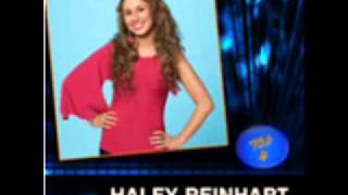Download Lagu Haley Reinhart - I Who Have Nothing - Top 4 - Studio Recording Mp3