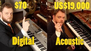 Video Can You Hear The Difference Between an Acoustic and Digital Piano MP3, 3GP, MP4, WEBM, AVI, FLV Agustus 2018