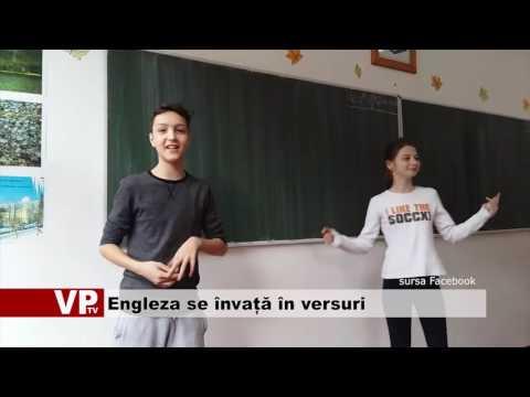 Engleza se învață în versuri