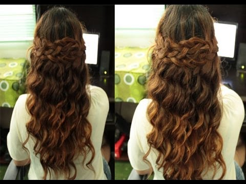 Selena Gomez Boho Braided Hairstyle (Inspired) Simplified Version