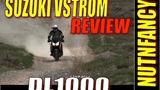 6. Suzuki DL1000 VStrom Review: Adventure Bike?