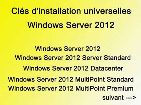 Clef Windows Server 2012 universal, premium,  licence key, universal key activation product serial