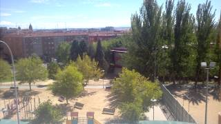 Timelapse 24h, ~4000 pictures.  Salamanca, Spain.