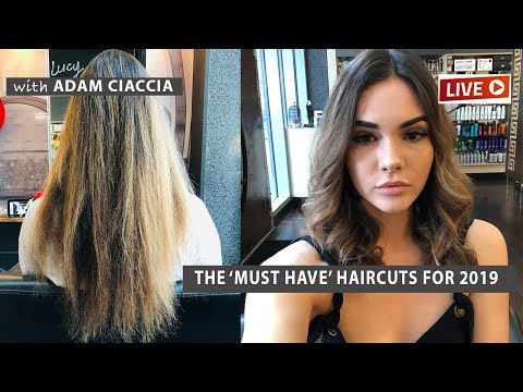Short haircuts - 'The MUST HAVE Haircuts for 2019' EPISODE 2 with @Lucycameron