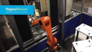 Automating CNC Machines using HepcoMotion and KUKA