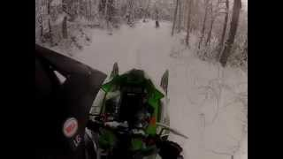 7. 2014 ArcticCat M6000 SP 153 Wheelies