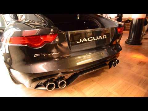 Meglestük a JAGUAR F-Type R Coupe-t