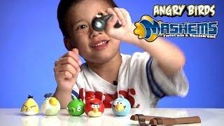 Angry Birds Mash'Ems, Splat Balls, Splat Catch, and Splat Target Zone!