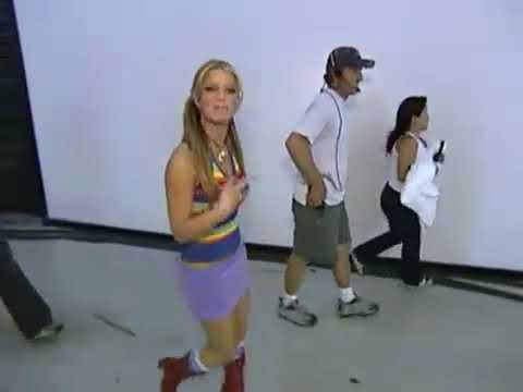 Jessica Simpson - the Making of The video A Little bit Reversed