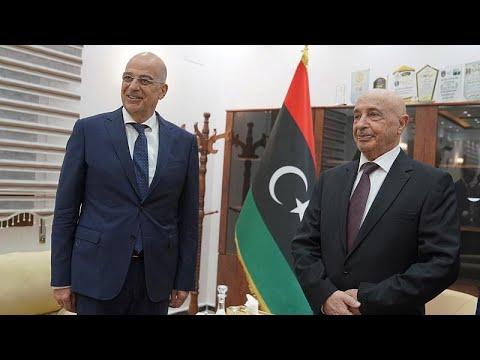 Νίκος Δένδιας: «Στην Λιβύη συζήτησα τον καθορισμό θαλασσίων ζωνών»…