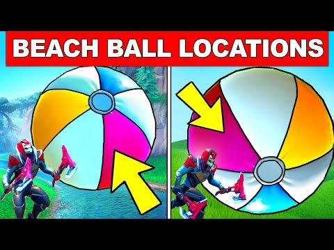 BOUNCE A GIANT BEACH BALL IN DIFFERENT MATCHES – ALL LOCATIONS FORTNITE 14 DAYS OF SUMMER CHALLENGES