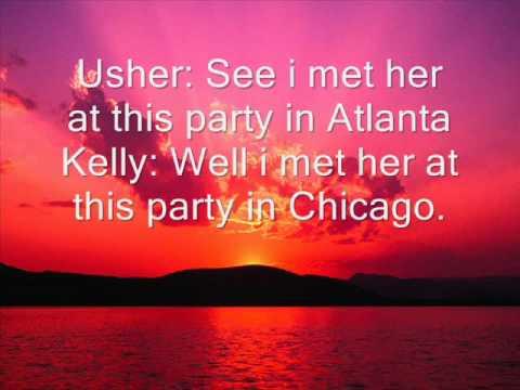 Usher lyrics girl and r kelly same